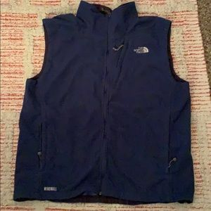 Men's THE NORTH FACE WindWall navy blue VEST XL